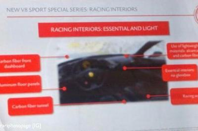 Leaked Specs Say the Ferrari 488 GTO Will Carry the Most Powerful V-8 Engine in Ferrari History - image 761846