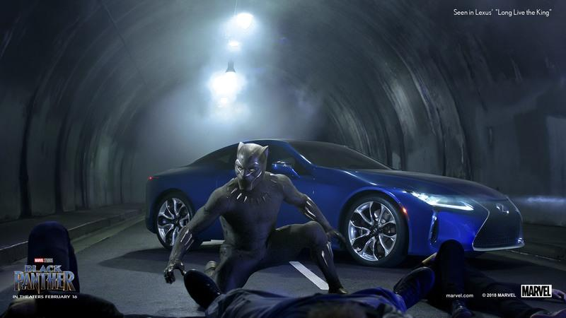 Check Out Lexus' Black Panther Super Bowl Commercial Before The Big Game