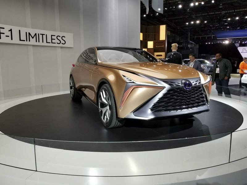 The Lexus LF-1 Limitless Is the Ultimate Luxury Crossover Exterior - image 758456
