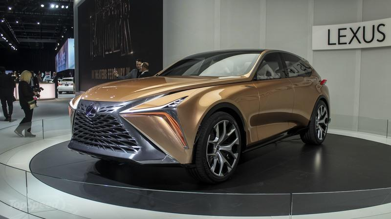 There's Space For The Lexus LF-1 Limitless Concept in the Lexus Lineup