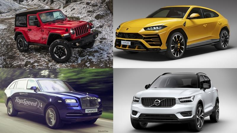 Looking Forward: Five SUVs That Will Hit the Streets This Year