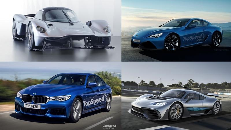 Looking Forward: Five Exciting Cars Coming in 2018