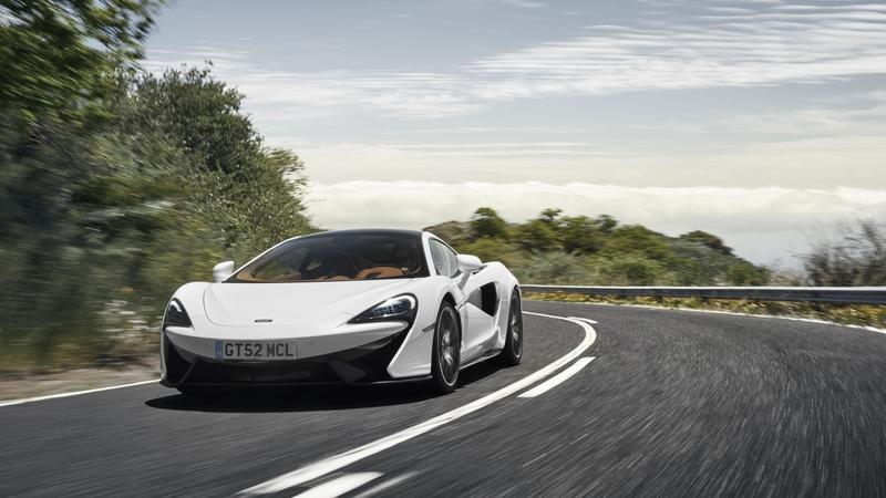 Wallpaper of the Day: McLaren 570GT Sport Pack