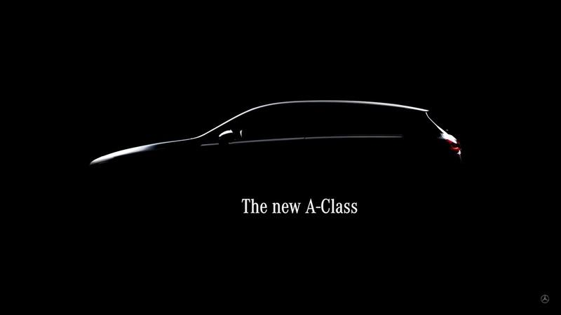 Mercedes A-Class Teased Ahead of Feb 2 Debut
