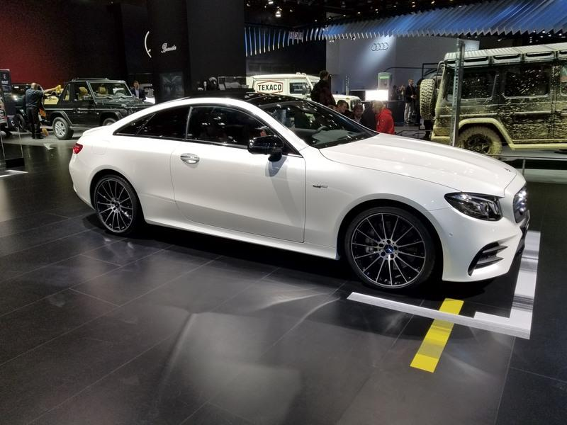 Mercedes-AMG E53 Coupe Hits Detroit as the Most Powerful Two-Door E-Class Yet - image 758564