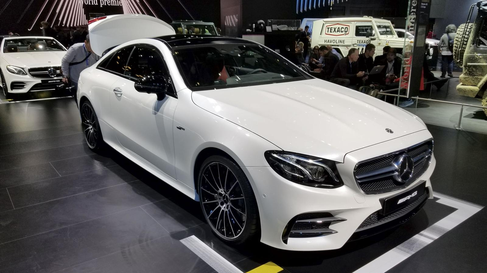 mercedes amg e53 coupe hits detroit as the most powerful two door e class yet news top speed. Black Bedroom Furniture Sets. Home Design Ideas