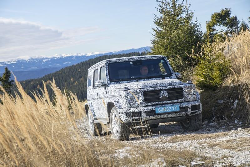 Mercedes-Benz Previews New G-Class With Off-Road Specs