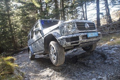 Mercedes-Benz Previews New G-Class With Off-Road Specs - image 755440