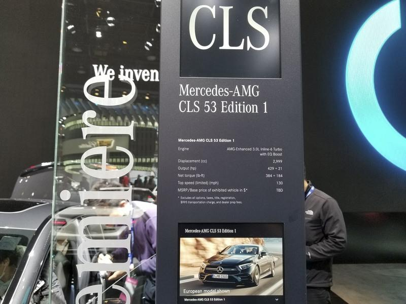 Mercedes Debuts New AMG Series with CLS53 Model