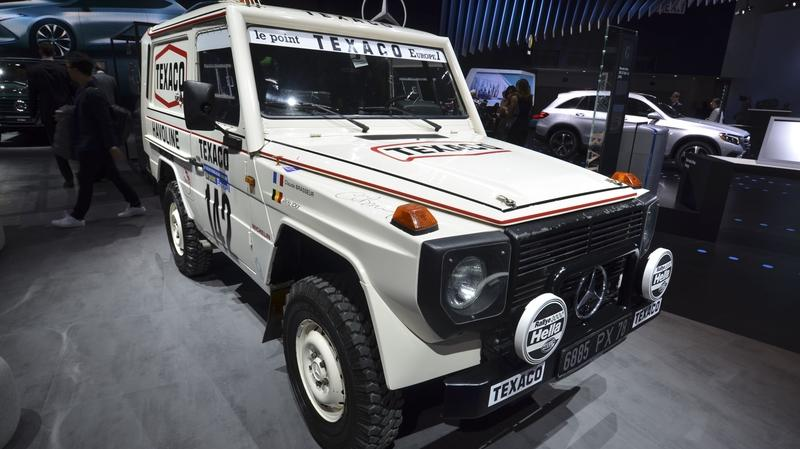 Mercedes Displays 1983 Dakar Rally-Winning 280 GE at 2018 Detroit Auto Show