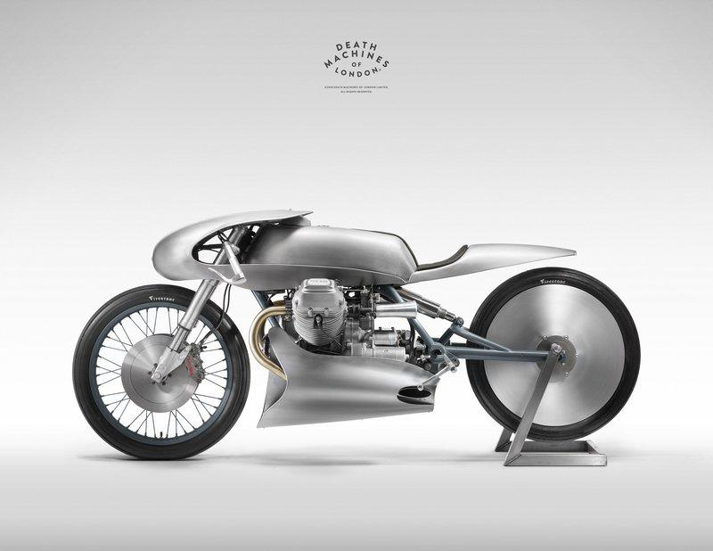 Moto Guzzi Airforce: A custom built LE MANS Mk2