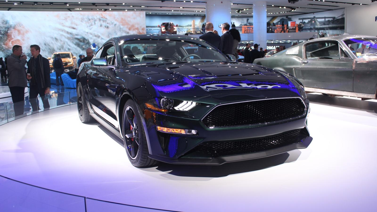 New Ford Mustang Bullitt Is Mean And Green In Detroit News