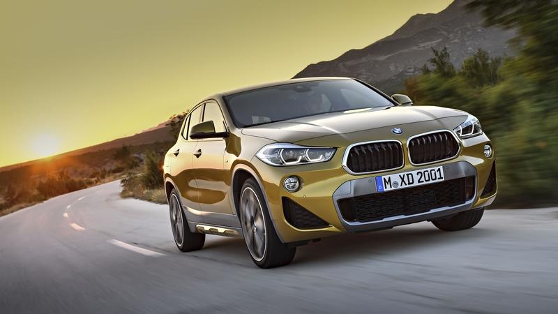 New Front-Wheel Drive BMW X2 Won't Arrive Until Late Spring