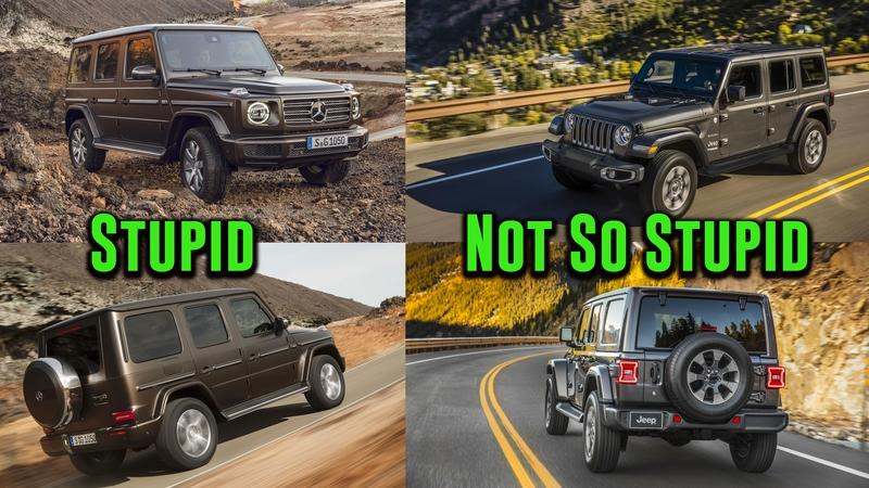 Nope, the New Mercedes G-Class Isn't Cool. It's Just Stupid