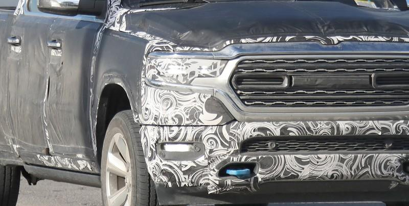 Peek-A-Boo! 2019 Ram 1500 Slips From Under Covers