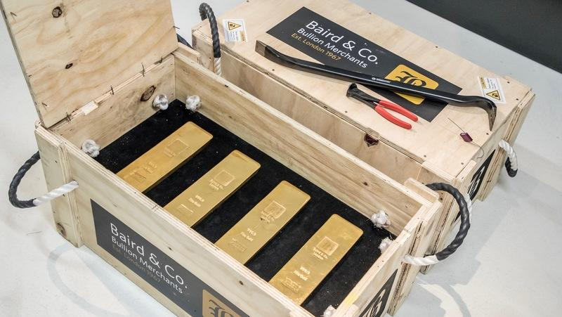 Porsche Used to Transport $14 Million in Gold - Now That's Rich!