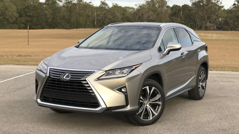 Price Check: Lexus RX350 vs the Competition