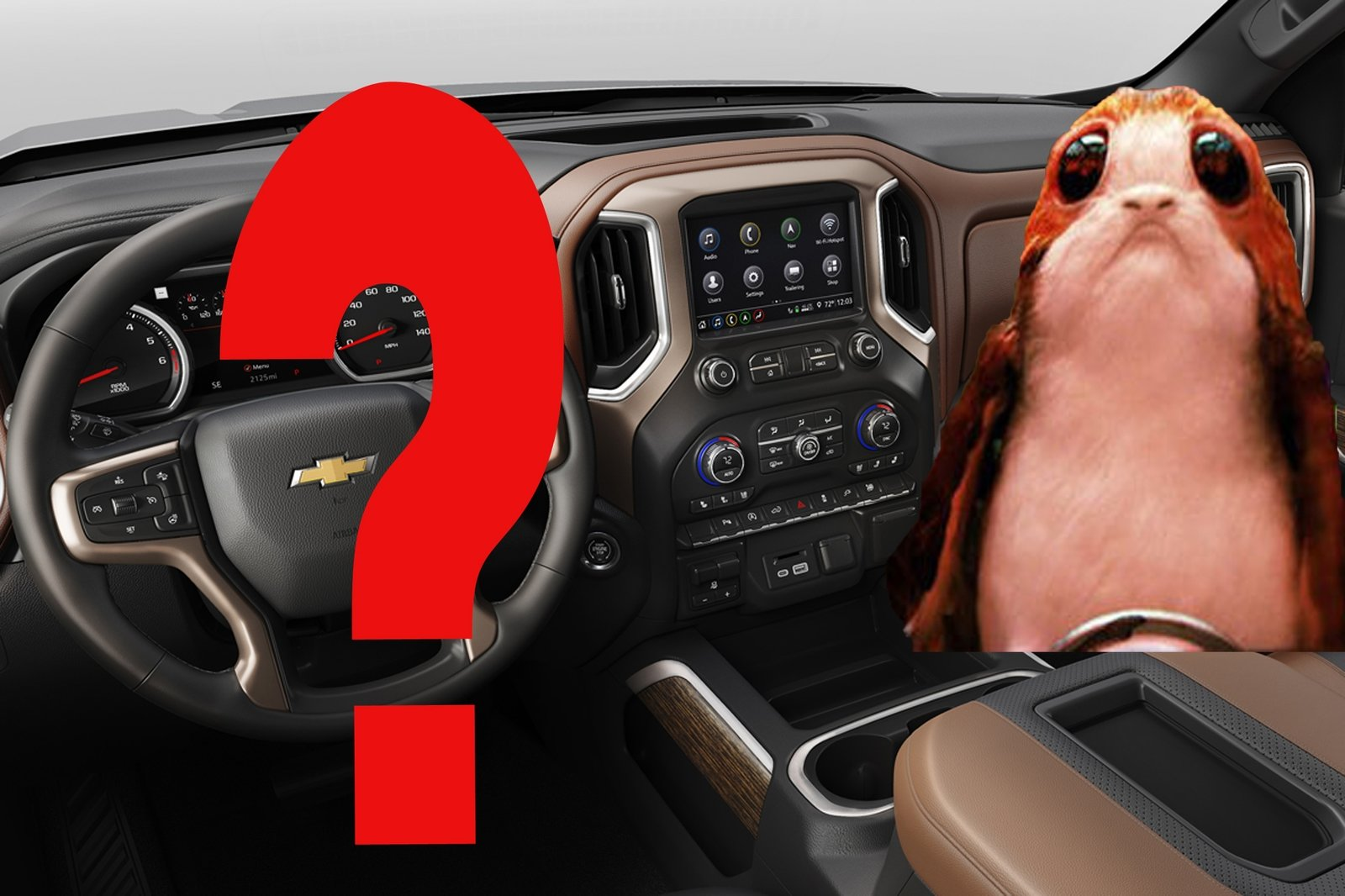 Silverado Porg X W on Dodge Ram Trucks