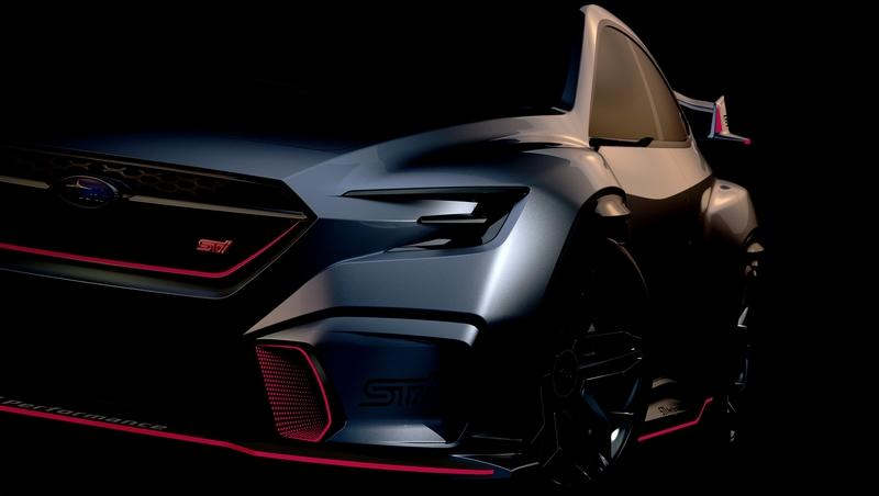 Subaru Promises New Viziv Performance STI For 2018 Tokyo Auto Salon!