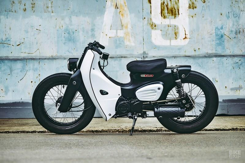 The 2018 Honda Cub gets its first custom build