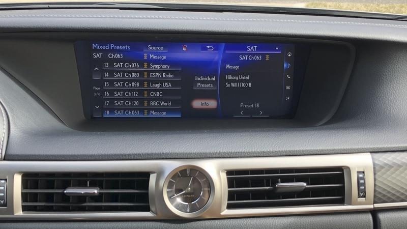 The Lexus GS 200t's Infotainment System is its Weak Point