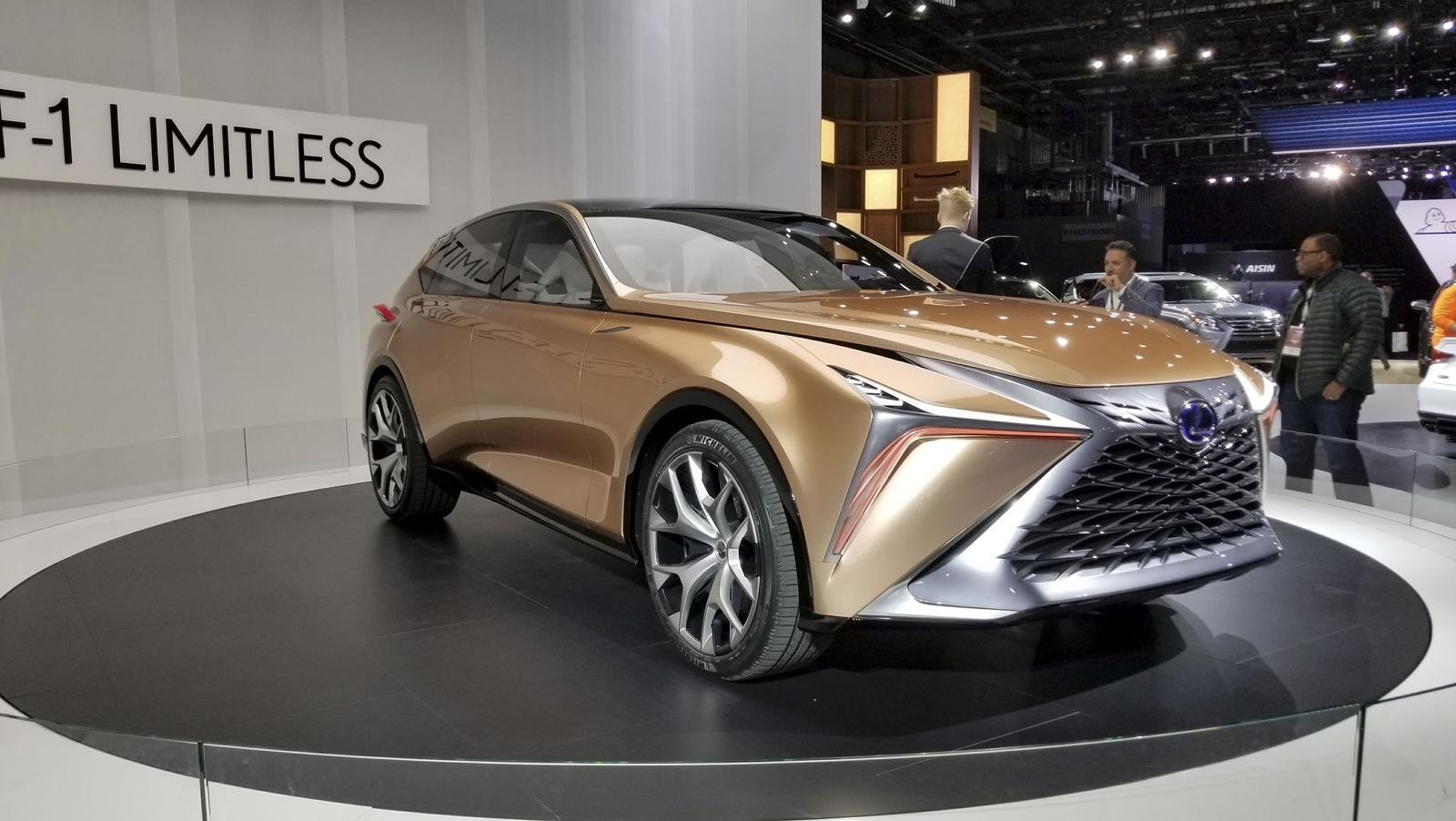 the lexus lf 1 limitless is the ultimate luxury crossover news top speed. Black Bedroom Furniture Sets. Home Design Ideas