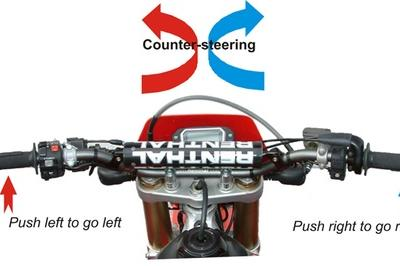 Counter-steering: The number one steering technique every rider should master