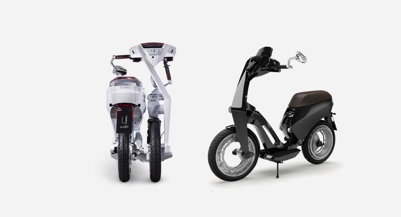 The Ujet Electric Scooter Is the Ultimate Urban Runabout