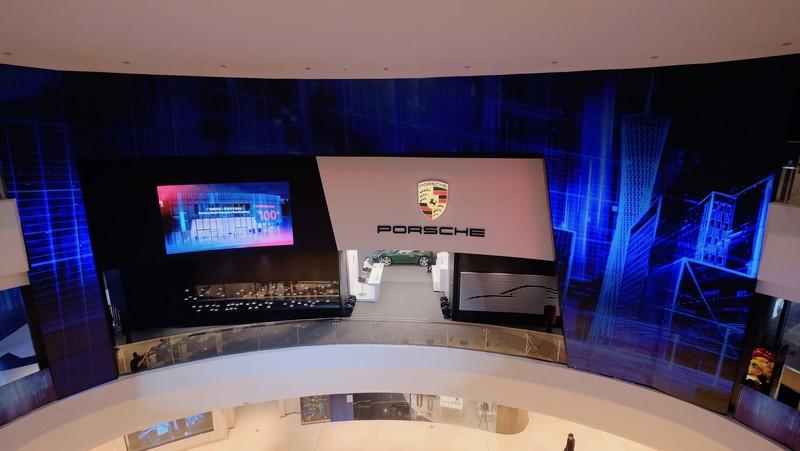 There's a New Porsche Design Studio Inside a Chinese Mall!
