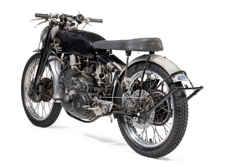 Bonhams created history with the most expensive sale of a motorcycle in its auction