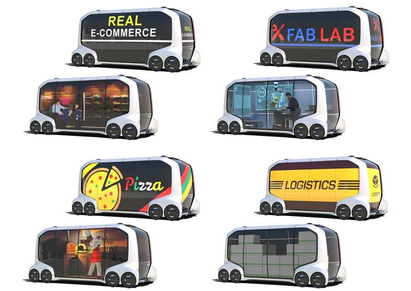 Will Toyota's New E-Palette Concept Show Us the Future of Inner-City Travel? - image 756237