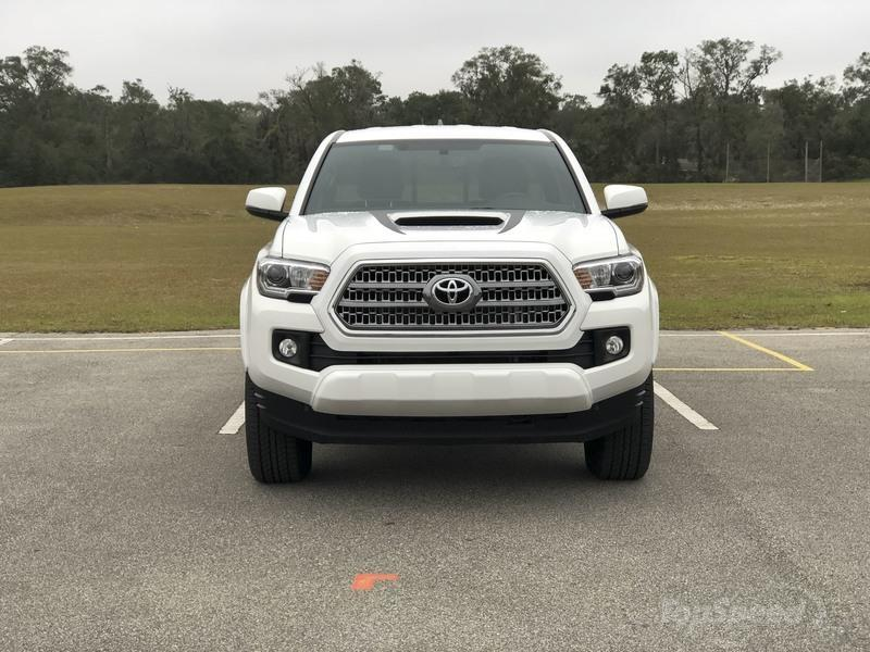 2017 Toyota Tacoma TRD Sport - Driven | Top Speed