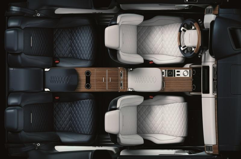Trading Utility for Luxury: Limited Edition Range Rover SV Coupe
