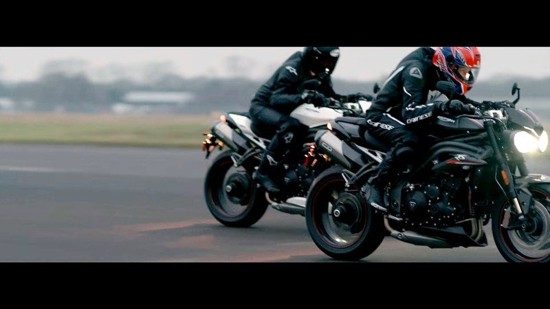 Triumph teases the new Speed Triple, again