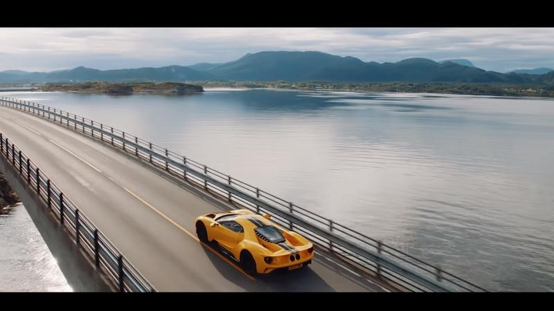 Video of the Day: Ford GT Meets the Arctic Circle
