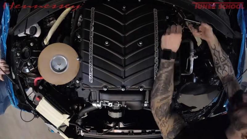 Video of the Day: Watch Hennessey Turn a Stock 2018 Chevy Camaro ZL1 into the Exorcist!