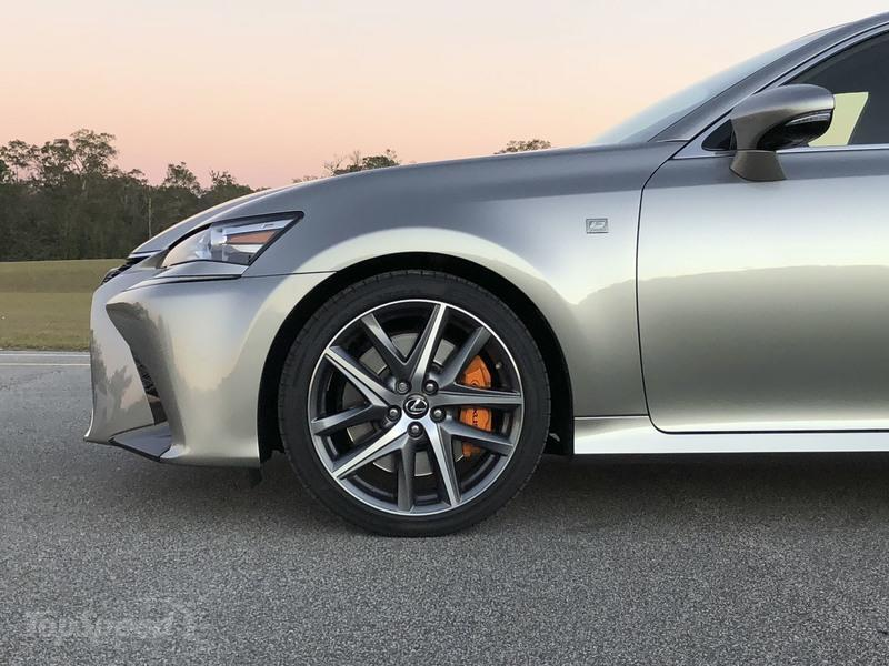 How the Lexus GS 200t F Sport Compares to the GS F