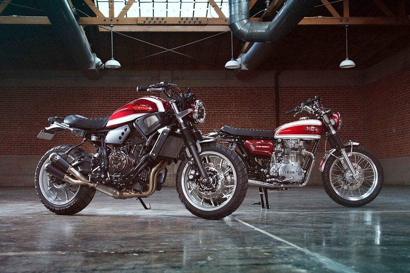 Yamaha Yard Build: XS650 & XSR700 by Greg Hageman