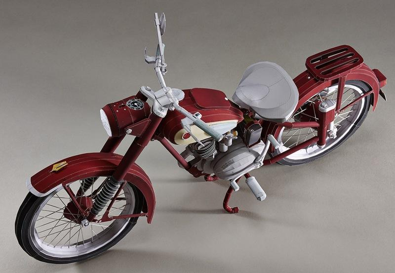Yamaha Paper Crafts now gets the YA-1 to celebrate the 20th anniversary