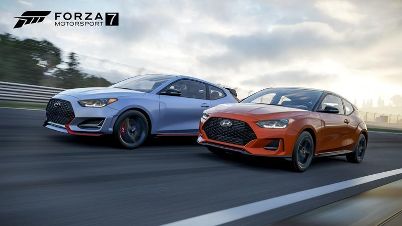 You Can Already Drive The Cool Hyundai Veloster N in Forza Motorsport 7