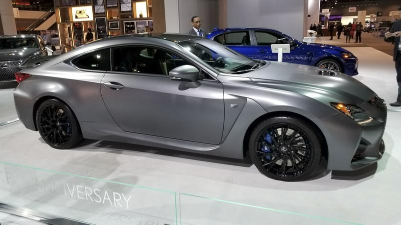 10 Years of Lexus' F Series Culminates With Pair of Chicago Auto Show-bound Special Edition models