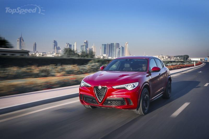 The 2018 Stelvio Quadrifoglio Will Set You Back $81,590 with Destination Fees