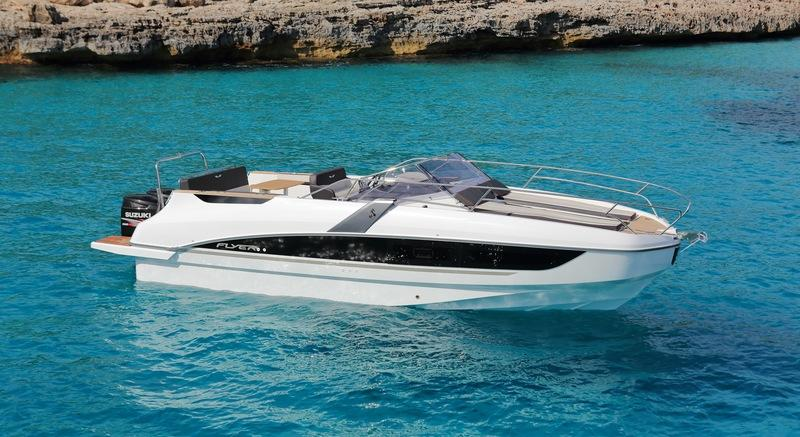 2018 Beneteau Flyer 8.8 SUNdeck Exterior High Resolution Wallpaper quality - image 764889