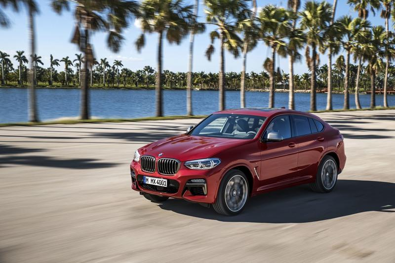 BMW Quietly Releases the New X4 SUV