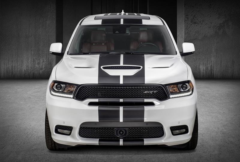 Dodge Durango gets Hellcat Looks at Chicago Auto Show