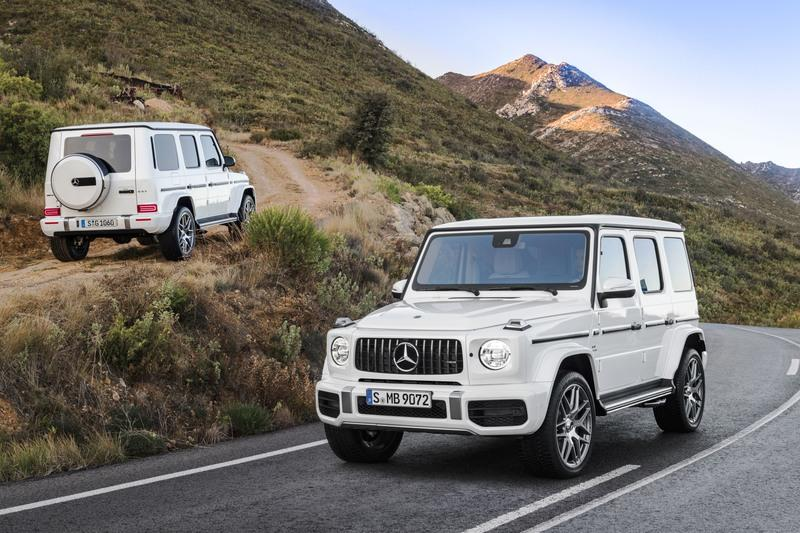 Mercedes-AMG Debuts 2019 G63 With 577 horsepower!