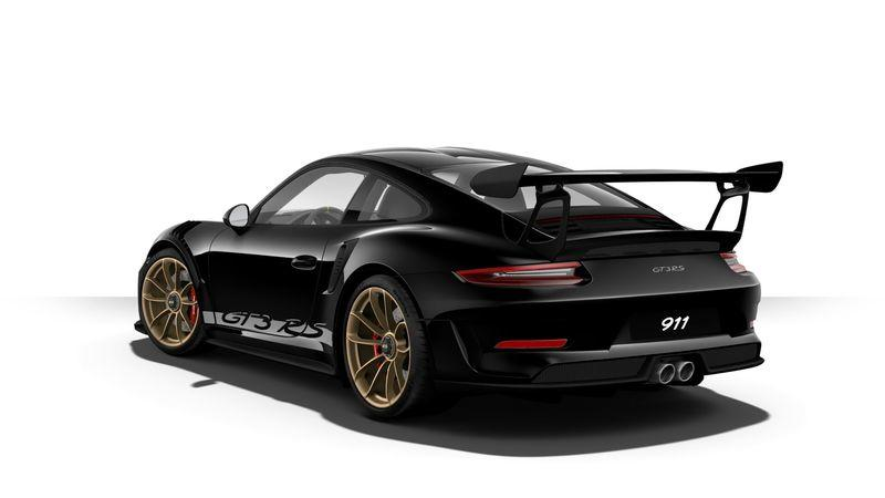 The Porsche 911 GT3 RS Configurator is Online and Boy Does it Have Some Crazy Options