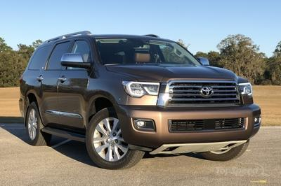 Does The Face Of The Toyota Sequoia Hint At What We Can Expect For The Next Toyota Tundra?