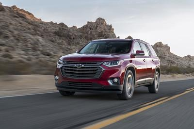 The 2018 Chevy Traverse RS Gets Ready for Chicago - image 765866