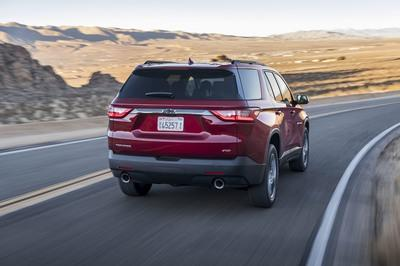 The 2018 Chevy Traverse RS Gets Ready for Chicago - image 765867